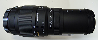 SIGMA 70-300mm F4-5.6 DG MACRO 300mm