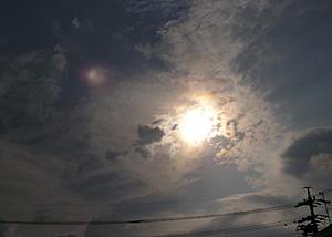 秋分の日の静岡の空 2012.09.22 静岡市葵区