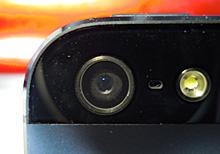 iPhone5のカメラ・レンズ