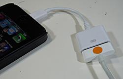 ライトニングコネクタ用変換ケーブル(30ピンドックコネクタ)