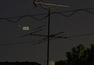 ISS 2013.04.10 18:58 静岡市葵区平野部 北東の空