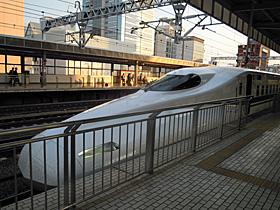 N700 Advanced 新幹線 静岡駅 5番ホーム