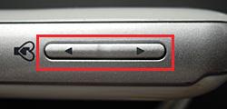 Softbank みまもりケータイ2 101Zのサイドキー