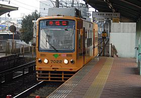 都電 荒川線 7000形 王子駅 2013