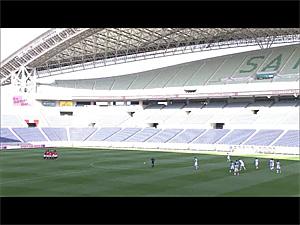 キックオフ直前の埼玉スタジアム スカーパーJリーグLIVEから画像引用