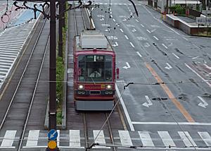 豊橋鉄道 東田本線 780形電車 JR豊橋駅前