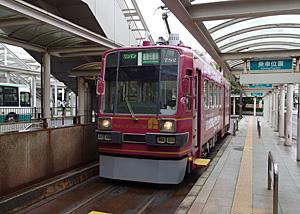 豊橋鉄道 東田本線 780形電車 駅前r電停駅