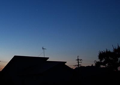金星 2014.06.13 4:12 静岡市葵区平野部 東の空