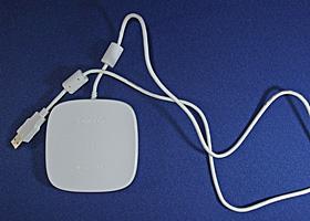 付属のUSB通信トレイ HHX-IT2