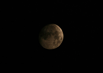 月齢 12.3の月 2014.10.06 22:06 静岡市葵区平野部 南の空