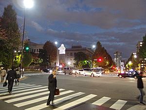 2014.11.18 国会図書館前交差点
