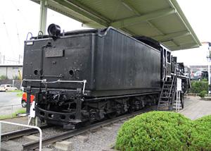 蒸気機関車 C58型49号機 掛川中央公園・掛川市