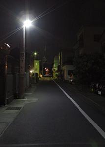 LEDの街灯