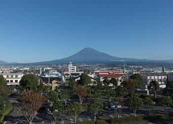 富士山 2015.11.16 富士市本市場