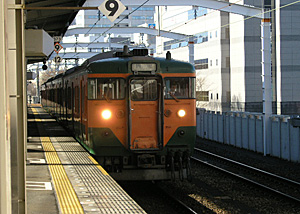 湘南色 113系電車 東海道本線