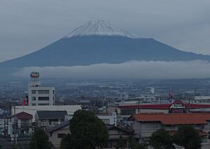 富士山 2015.11.24 富士市本市場