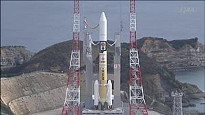 H-2Aロケット 26号機 2014.12.02打ち上げ(はやぶさ2)