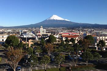 富士山 2015.11.27 富士市本市場