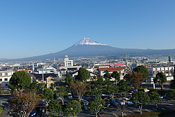 富士山 2015.12.01 富士市本市場