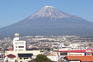 富士山 2016.01.04 富士市j本市場