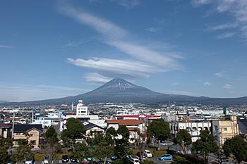 富士山 2016.01.08 富士市本市場