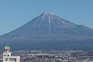 富士山 2016.01.15 富士市本市場