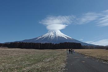 富士山 2016.02.23 富士宮市人穴
