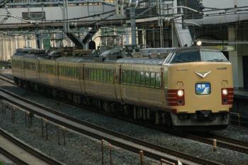 485系臨時急行「能登」 2010.08
