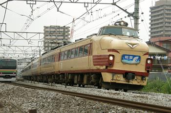 489系急行「能登」 2008.08