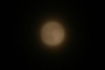 月齢 16.4の月 2016.06.20 21:04 静岡市葵区平野部 南東の空