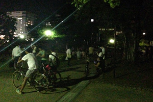2016.08.05 21:45 駿府城公園