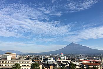 富士山 2016.10.31 富士市