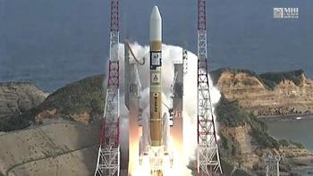 静止気象衛星「ひまわり9号」/H-IIAロケット31号機 打ち上げ ※ 宇宙航空研究開発機構 YouTubeから画像引用