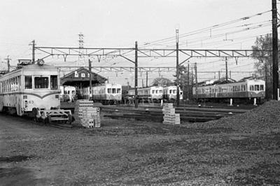 静岡鉄道長沼工場 1974.12.08