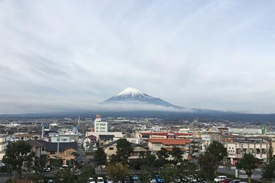 富士山 2016.12.05 富士市本市場