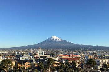 富士山 2017.02.03 富士市本市場