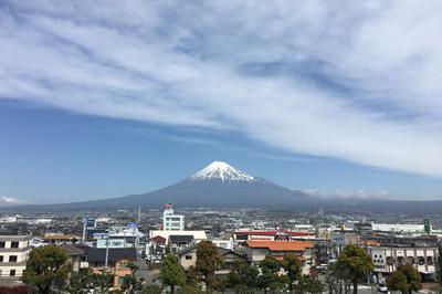 富士山 2017.04.18 富士市本市場