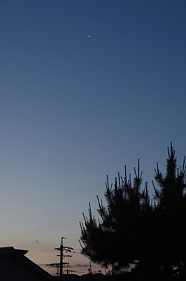金星 2017.06.05 4:13 静岡市葵区平野部 東の空