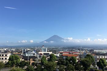 富士山 2017.09.13 富士市本市場