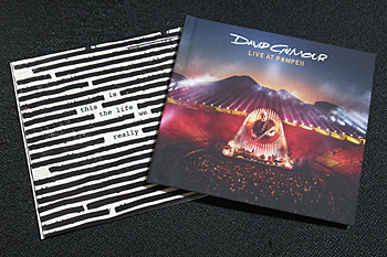is this the life we really want?'/Roger Waters(左)と'LIVE AT POMEII'/Dvid Gilmour
