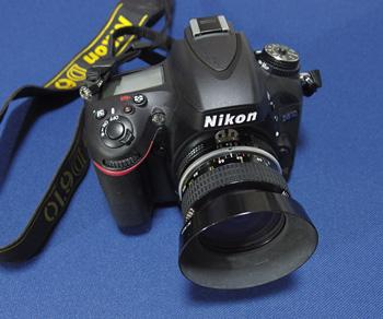 Nikon D610とNIKKOR 28mm f3.5