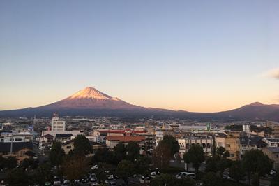 富士山 2017.12.05 富士市本市場