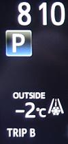 車外温度計