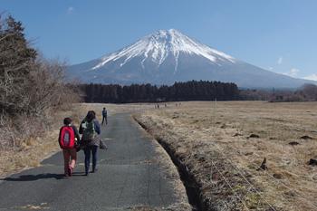 富士山 富士宮市人穴