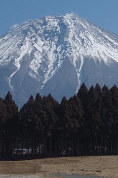 富士山大沢崩れ 富士宮市人穴