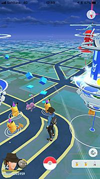 とんがり帽子のピカチュウ Pokémon GO!
