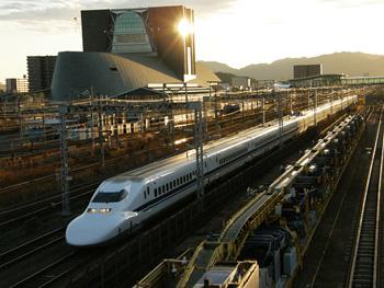 700系東海道新幹線 JR東静岡駅付近
