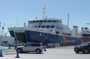 清水港 日の出埠頭