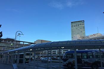 JR静岡駅南口 2018.10.01 7時頃