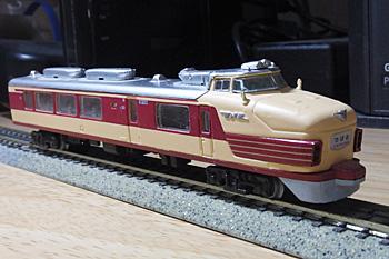 151系特急形直流電車クロ151形のNゲージモデル